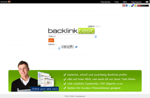 Backlinktest-Tool