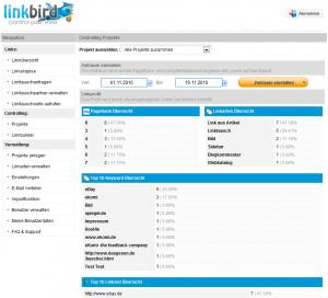 Linkbird Screenshot