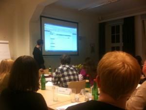 Moderator und Referent Philipp Westermeyer in Aktion