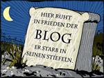 Blog bald tot?