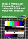 Grüne JMStV Wahlplakat
