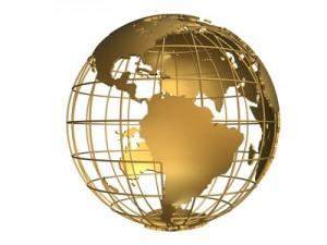 goldener globus
