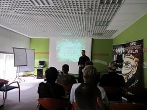 Patrick Klingberg von der wirkungsvoll GmbH auf der SEO Campixx 2011