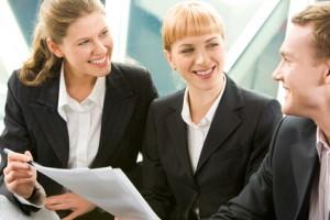 Gute Stimmung in Meetings