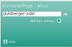 webwhois auf denic.de