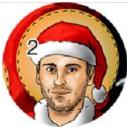 Patrick Klingberg als Weihnachtsmann