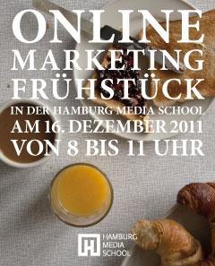 Online Marketing Frühstück