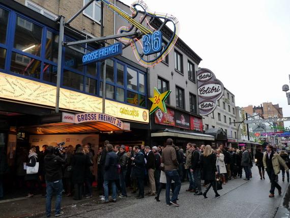 Online Marketing Rockstars 2012 - Einlass