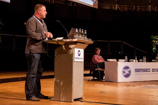 Jens Brechmann auf der SEMSEO 2012