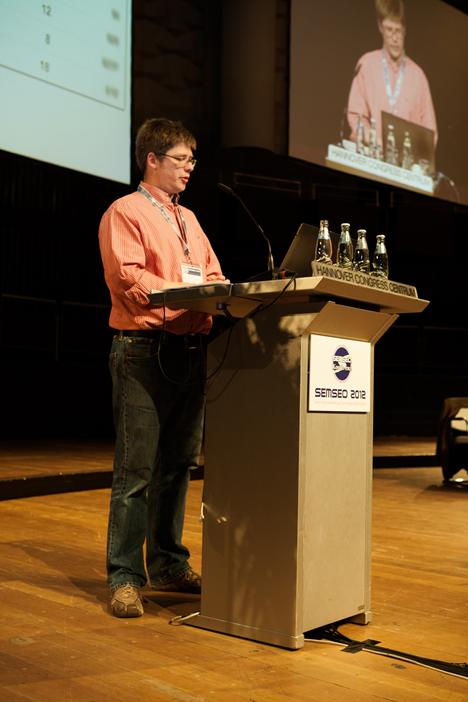 Martin Mißfeldt auf der SEMSEO 2012