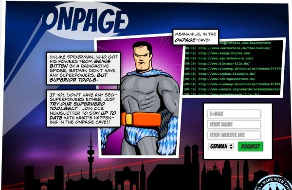 Onpage.org Startseite