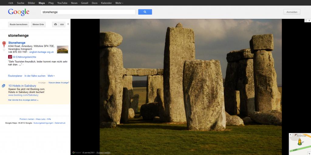 Google Street View Stonehenge