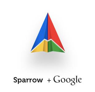 Google-und-Sparrow-gemeinsam
