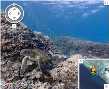 Unterwasser Streetview: Australien