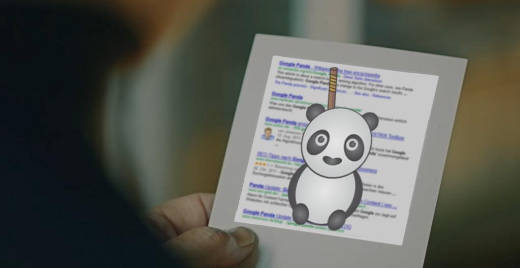"Google Panda (Update) in Storyline des Linkin Park Videos ""Lost in the Echo"" integriert"