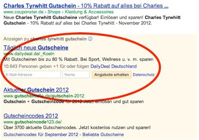AdWords-Feature