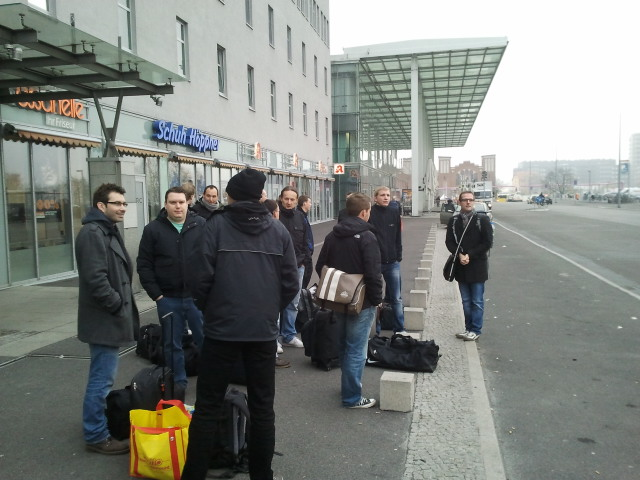 SEOs warten auf den Bus