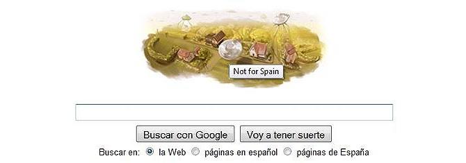 Google Doodle Spanien