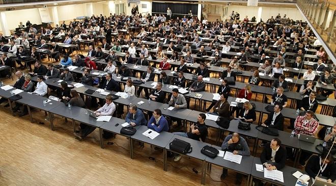 Konferenzraum bei der SEOKomm 2011