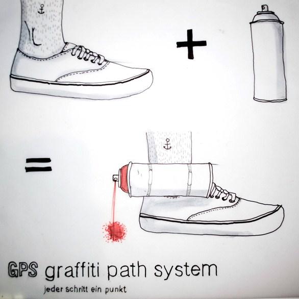 Amleitung zum Herstellen eines GPS (grafitti path system)