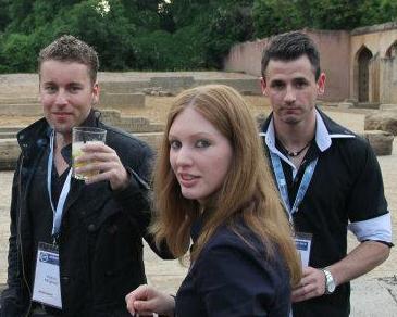 Andreas, Kerstin und Patrick von wirkungsvoll auf der SEMSEO