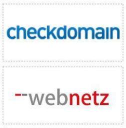 checkdomain logo und webnetz logo