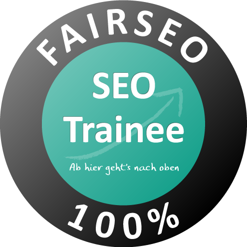 FAIRSEO-Gütesiegel der SEO Trainees