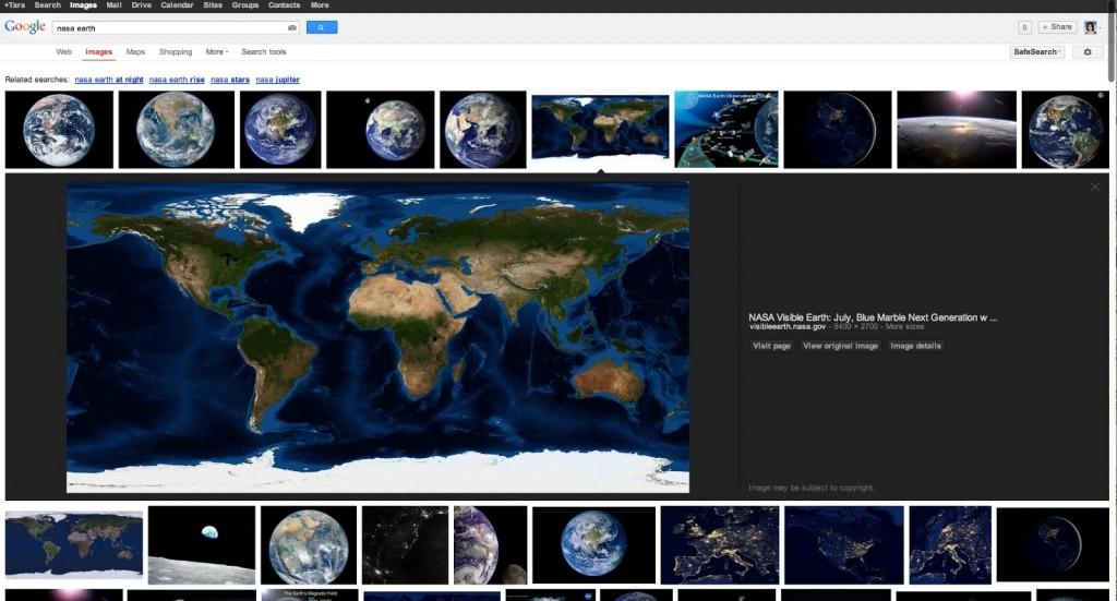 Die neue Google-Bildersuche