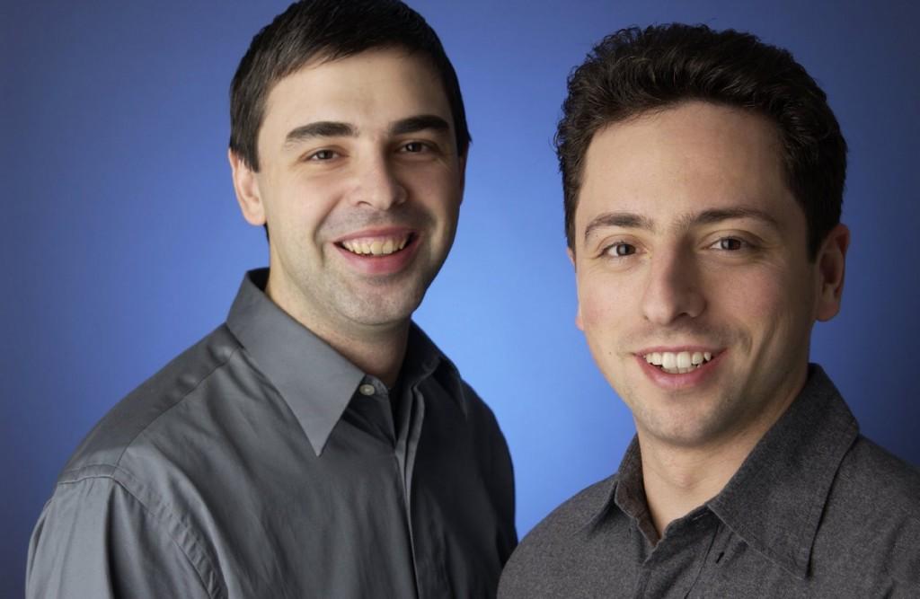 Google-Gründer Larry Page & Sergey Brin