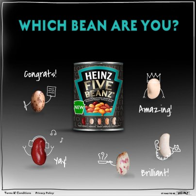 Heinz Five Beanz Contest