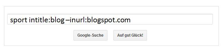 Google-Suche mit Parametern