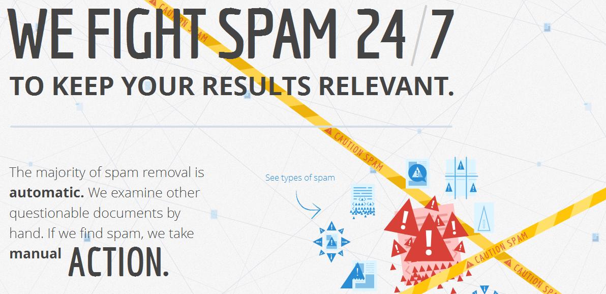 Google sagt Spam den Kampf an