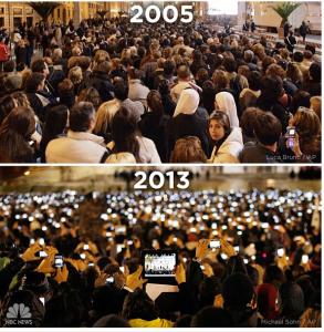 Papst Smartphone