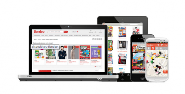 Tiendeo auf Lalptop, Tablet, Smartphone