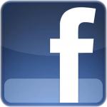 Facebook Logo blau