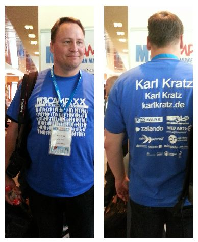 Karl Kratz bei der M3 Campixx