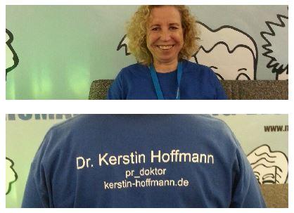 Kerstin Hoffmann als PR Doktor auf der M3 Campixx
