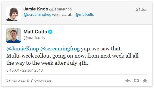 Tweet Matt Cutts