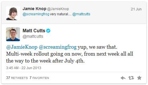 Tweet Matt Cutts