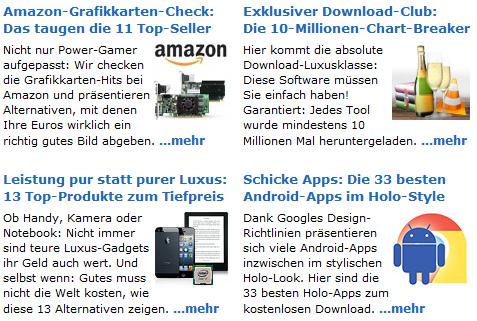 Beispiel Link zusammenfassen chip.de