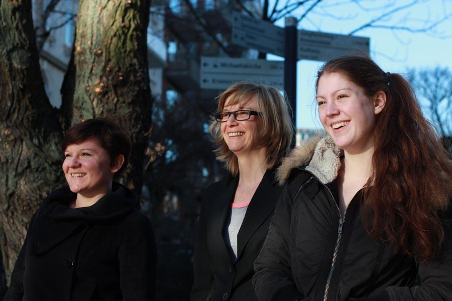 Monika Kraus-Wildegger und Team