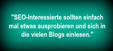Jens Umland Tipps für SEO Interessierte