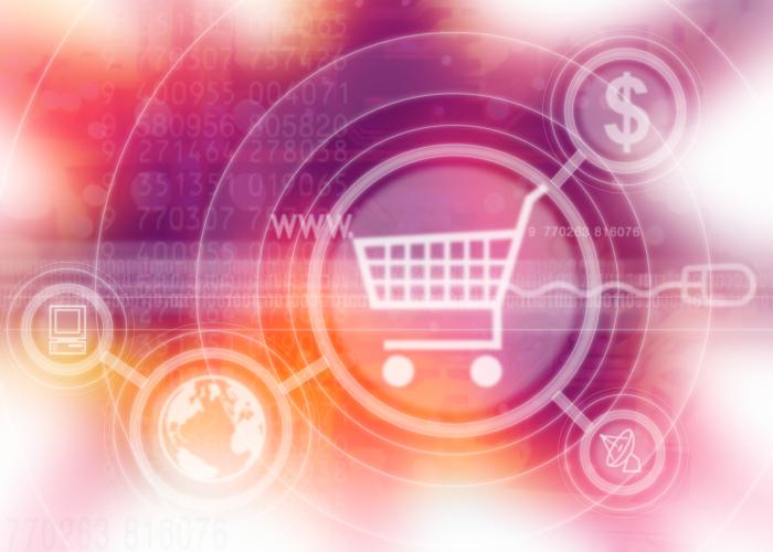 Digitaler Einkaufswagen