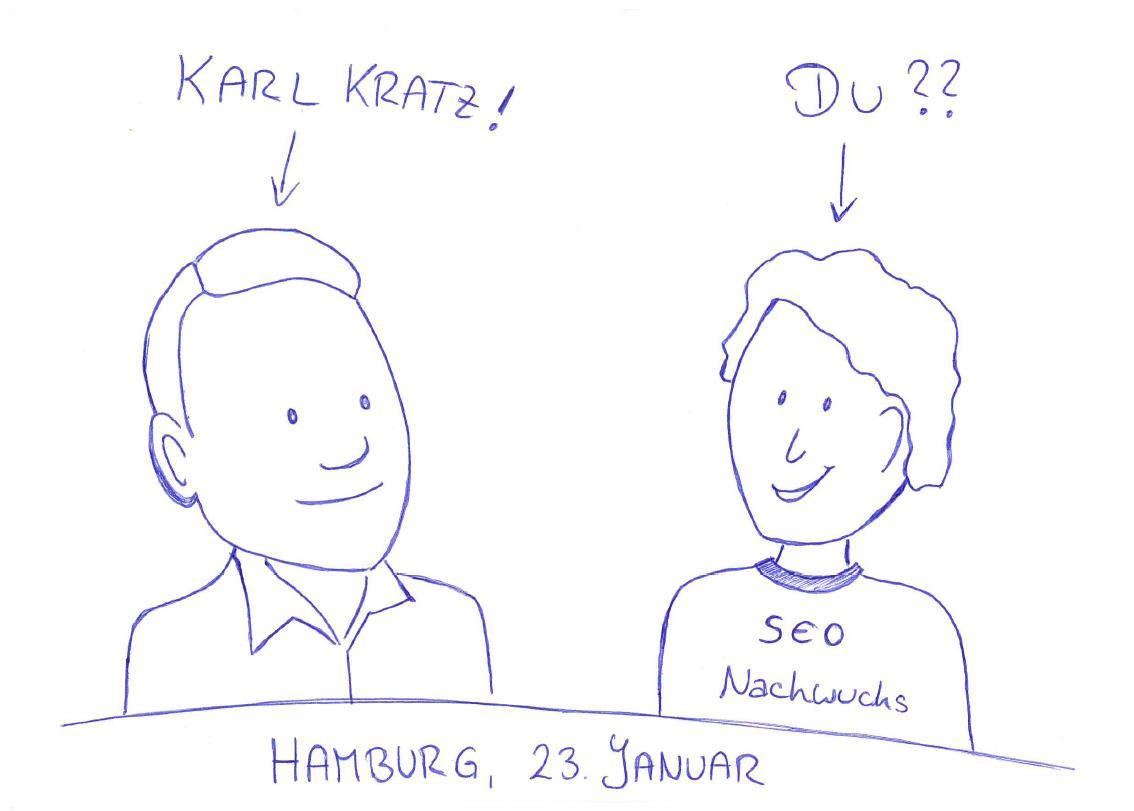 Karl und der SEO Nachwuchs
