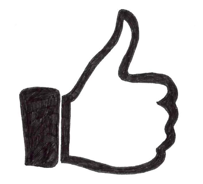 Facebook Daumen hoch