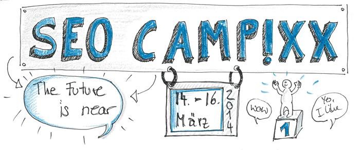 SEO CAMPIXX Sketchnotes