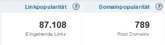 Domainpopularität von SEO-Trainee.de