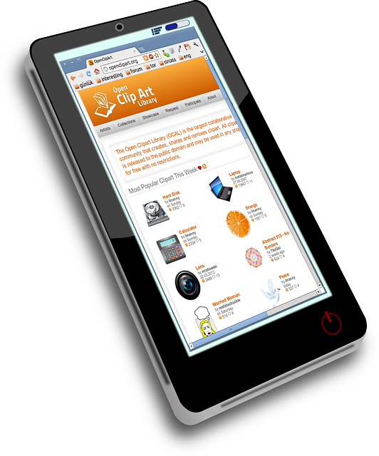 smartphone mobiles webdesign