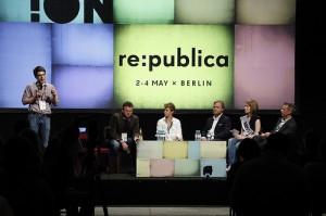 Konferenz auf der re:publica