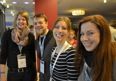 Die SEO Trainees mit dem Gewinner der  SEMSEO-Verlosung André Siemssen